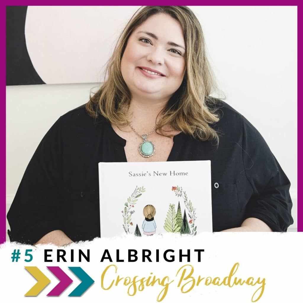 Erin Albright on Crossing Broadway Promo