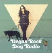 Picture of Samantha from Vegas Rock Dog Radio with her dogs